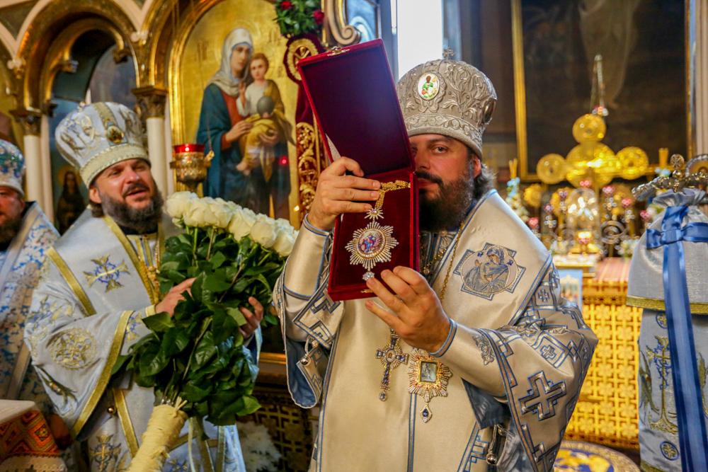 Архиепископ Амвросий принял участие в прздновании Рождества Пресвятой Богородицы во Львове