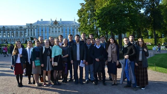 Студенты Духовной Академии посетили Царское Село