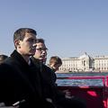 Взгляд на Петербург с воды. Ректор и студенты Академии побывали на экскурсии по рекам и каналам Северной Венеции