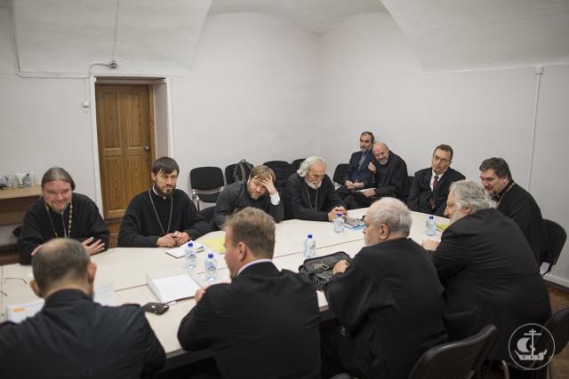 Состоялось заседание кафедры богословия