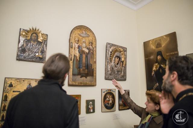 Делегация Эстонской Православной Церкви посетила Духовную Академию