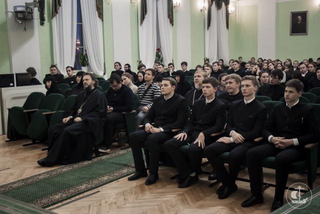 В Академии прошла встреча с настоятельницей греческого монастыря преподобного Ефрема Сирина