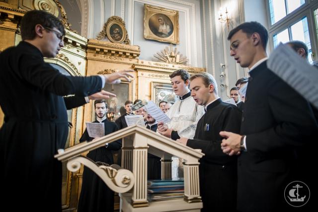 В Духовной Академии почтили память преподобного Сергия Радонежского