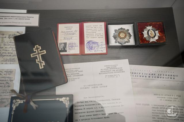 Памяти выпускников-новомучеников посвящена новая выставка в музее Духовной Академии
