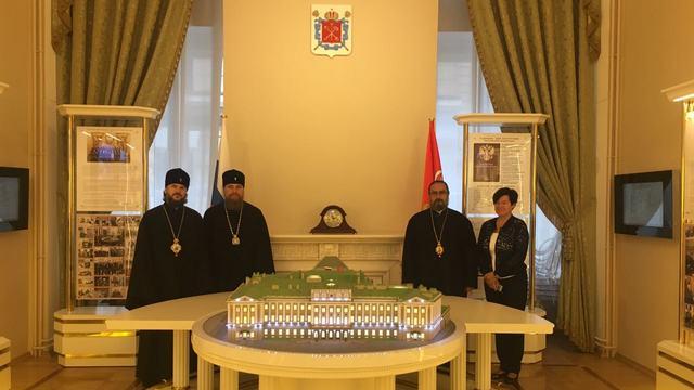 Ректор и гости Академии посетили Мариинский дворец и Президентскую библиотеку
