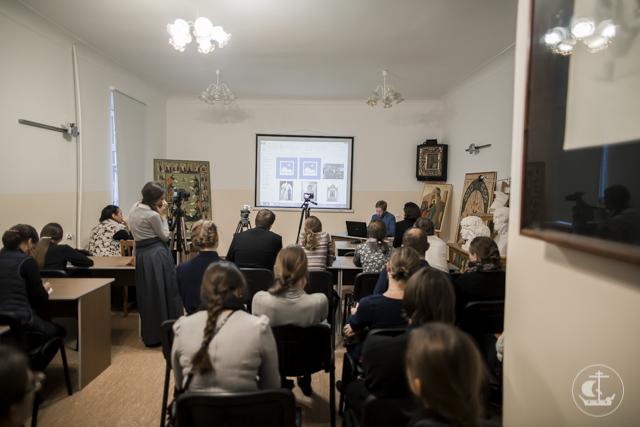 В Академии прошла встреча с иконописцем А.В. Козловым