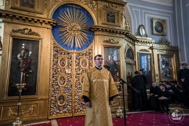 В воскресный день Духовная Академия почтила память своих святых выпускников