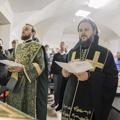 Архиепископ Амвросий освятил первые отремонтированные помещения в историческом здании Академии