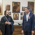Духовную Академию посетили глава Центрального района и председатель Комитета транспортной инфраструктуры