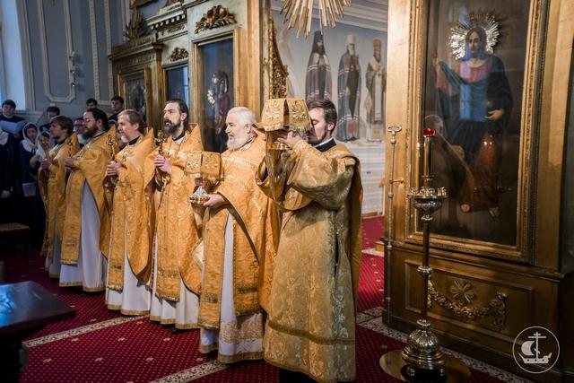В 20-ю Неделю по Пятидесятнице Духовная Академия почтила память отцов Седьмого Вселенского Собора