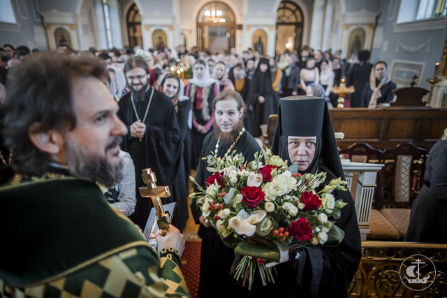 Духовная Академия почтила память преподобного Амвросия Оптинского и поздравила владыку ректора с тезоименитством