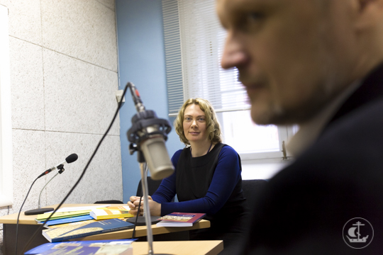 Новинки Издательства Духовной Академии представлены на радио «Град Петров»