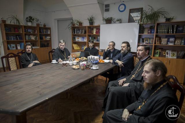 Состоялось очередное заседание редакционной коллегии журнала «Христианское чтение»