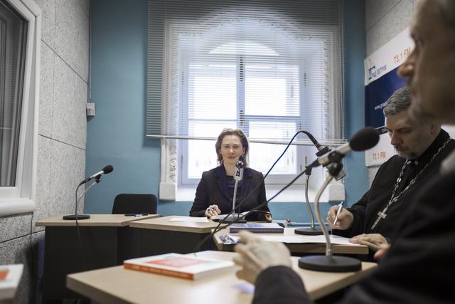 Сборник «Труды и переводы» представлен на радио «Град Петров»