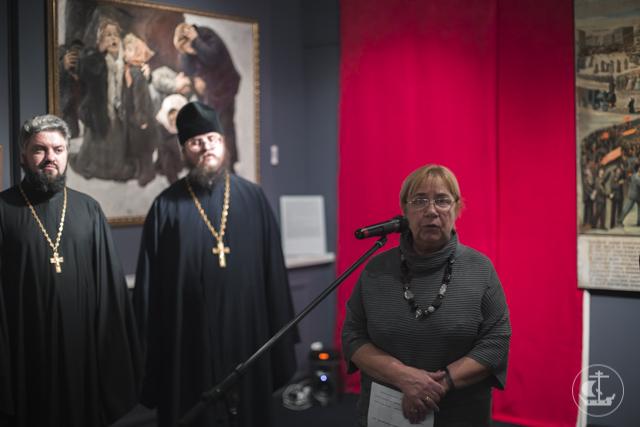Представители Академии приняли участие в открытии выставки «От монархии к Советам. Церковь в эпоху революционных потрясений 1905–1917 гг.»