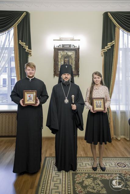 Ректор Академии благословил студентов бакалавриата на вступление в брак