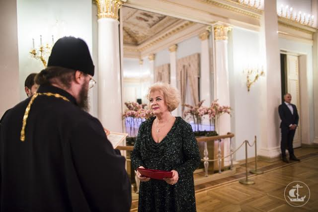 Представители Академии поздравили председателя Общественной палаты Петербурга Н.В. Кукурузову с юбилеем