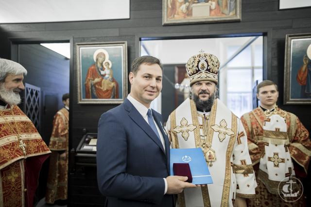 В Петербурге освящен храм-часовня реликвий