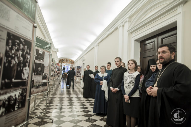 В Санкт-Петербургской Духовной Академии открылась фотовыставка «Святейший Патриарх Кирилл: служение на Смоленской земле»