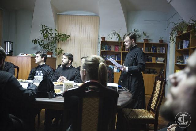 В Санкт-Петербургской Духовной Академии прошел круглый стол, посвященный святителю Филарету (Дроздову)