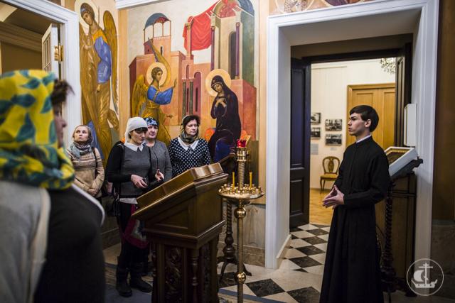 Представители Комитета по образованию и директора школ Великого Новгорода посетили Духовную Академию