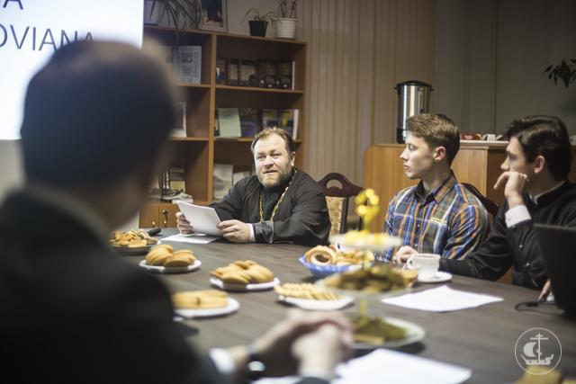 В Книжной гостиной прошел круглый стол, посвященный 150-летию со дня кончины профессора В.Н. Карпова – первого отечественного переводчика Платона