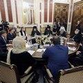 Архиепископ Амвросий принял участие во встрече Блаженнейшего Патриарха Александрийского и всей Африки Феодора II и Председателя Заксобрания Санкт-Петербурга Вячеслава Макарова