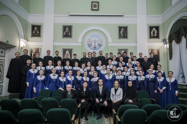 В стенах Духовой Академии прошёл концерт, посвящённый 100-летию избрания святителя Тихона на Патриарший престол