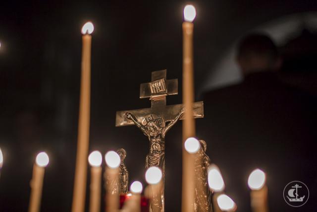 В Академии прошла первая лития по новопреставленному архимандриту Ианнуарию