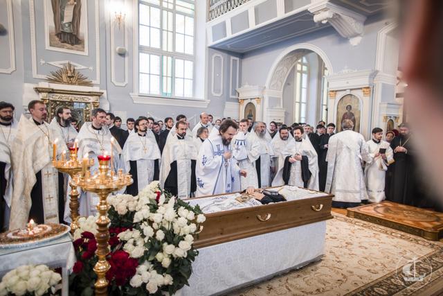 Академия простилась с архимандритом Ианнуарием (Ивлиевым)
