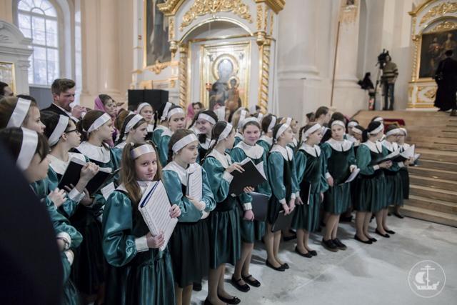 В Смольном соборе Санкт-Петербурга прошли тожества по случаю памяти мученицы Татианы – покровительницы российского студенчества