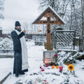 Академия молитвенно помянула архимандрита Ианнуария (Ивлиева) в сороковой день его кончины