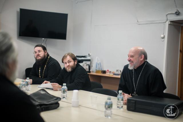 Состоялось заседание богословской кафедры