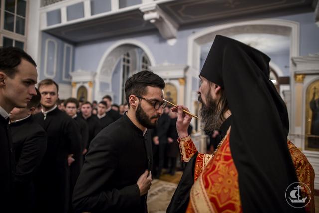 Академия молитвенно почтила священномученика Петра Скипетрова в день 100-летия его мученической кончины