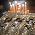 В день памяти Трех святителей в Академии совершена Литургия на греческом языке