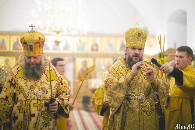 Архиепископ Амвросий принял участие в Актовом дне Минской духовной семинарии