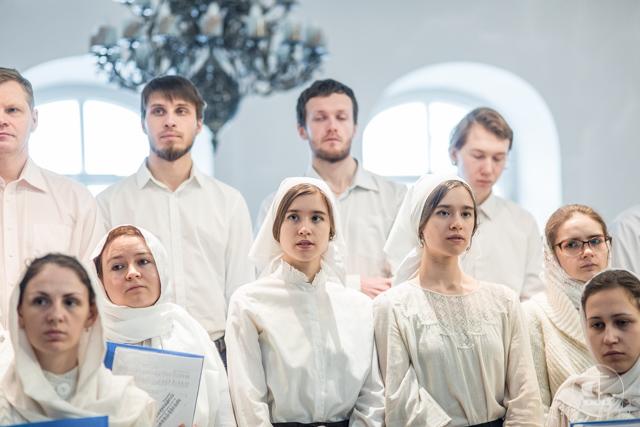 Верующие петербуржцы молитвенно отметили Международный день православной молодежи