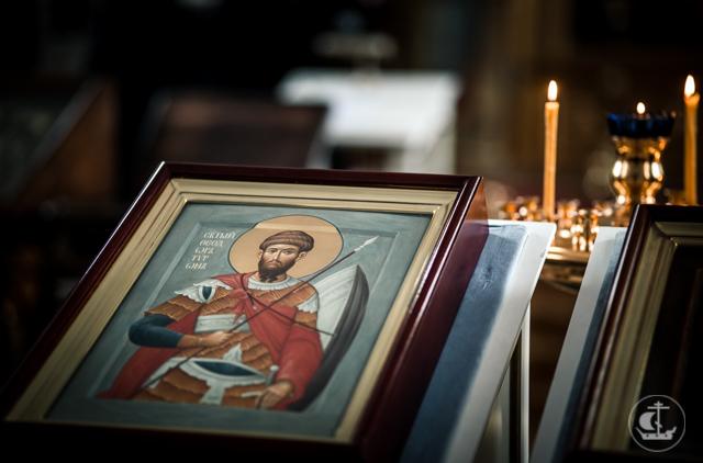 Академия почтила память великомученика Феодора Тирона
