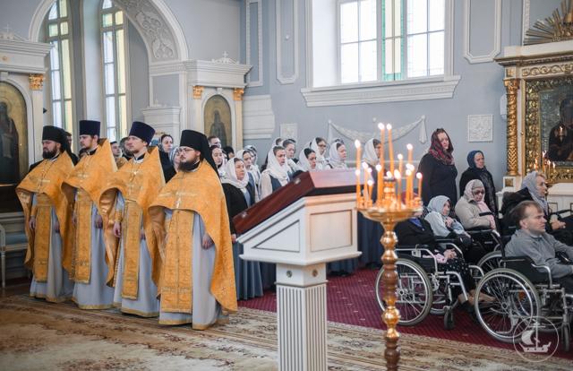 В день Торжества Православия студент Академии стал диаконом