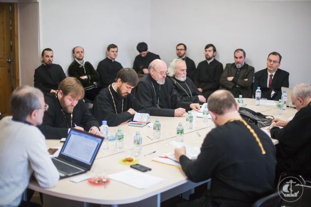 На кафедре богословия прошел научный семинар