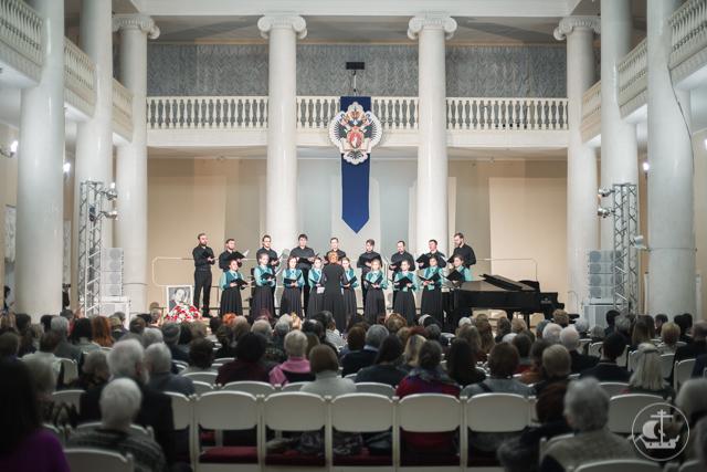 Камерный хор Академии выступил на хоровом фестивале имени Григория Сандлера