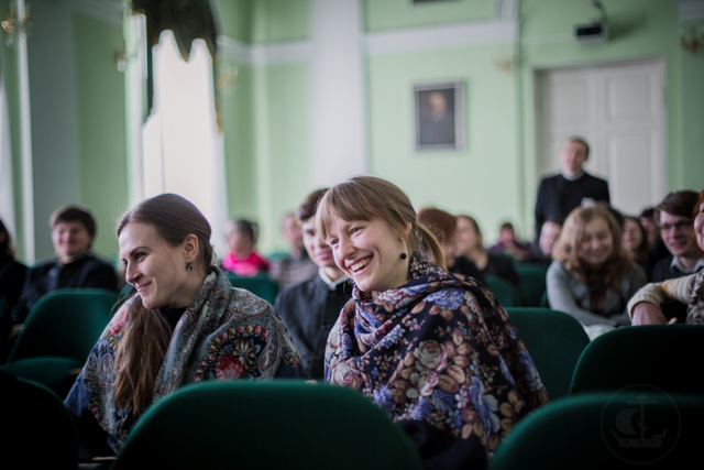 В Духовной Академии состоялся кинолекторий протоиерея Георгия Митрофанова