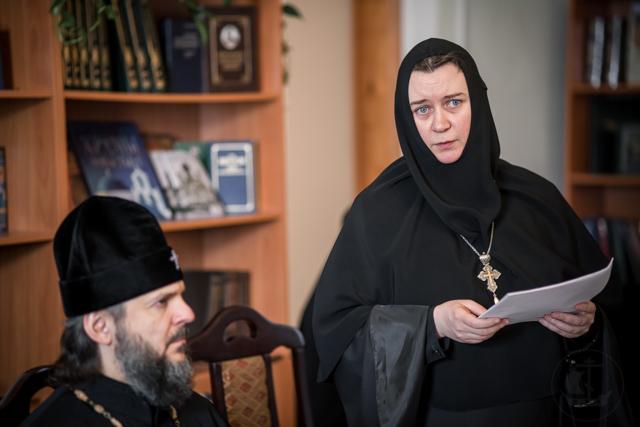 В Духовной Академии прошла вторая монашеская конференция