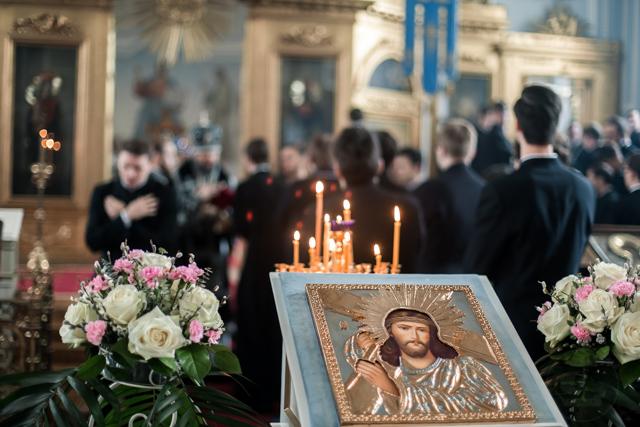 Архиепископ Амвросий совершил Литургию Преждеосвященных Даров в Великий вторник