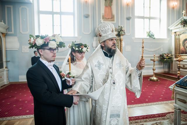 Архиепископ Амвросий совершил Таинство венчания студентов Духовной Академии