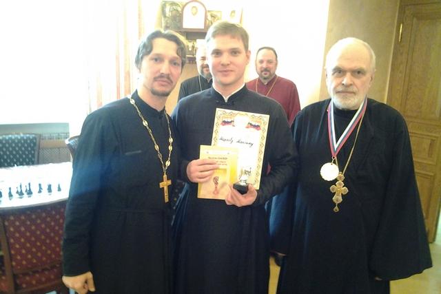 Студент Академии занял призовое место в шахматном турнире митрополии