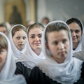 Воспитанницы регентско-катехизаторского училища Корецкого монастыря посетили Духовную Академию