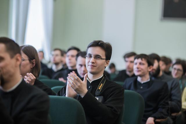 В Санкт-Петербургской Духовной Академии начала работу X Международная студенческая конференция