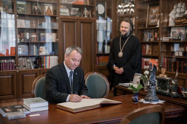 Делегация Евангелической церкви Аугсбургского вероисповедания в Словакии посетила Духовную Академию