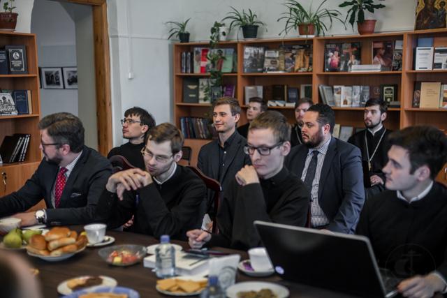 Заседание секции «Общие вопросы библеистики» Международной конференции прошло в Книжной гостиной